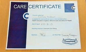 Image result for care certificate