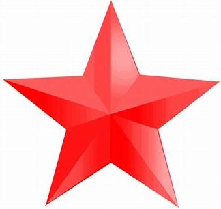 Résultat d'image pour étoile rouge PNG. Taille: 216 x 204. Source: fr.crazypng.com
