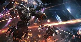 Image result for Space Battle Art