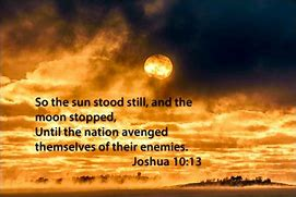 Image result for Joshua 10: 12-14
