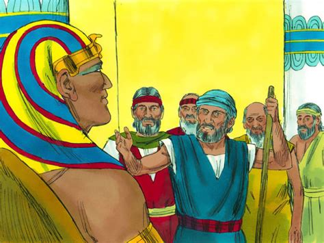 Image result for THE pharoah rebuffs the God of ISRAEL AND mOSES