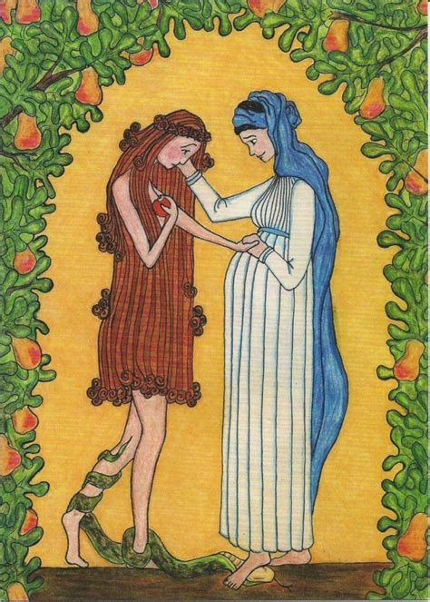 Image result for mary consoles eve painting