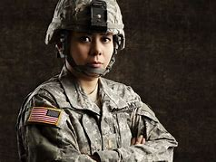 Image result for femLLE military image