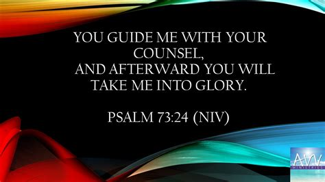 Image result for Psalm 73:24