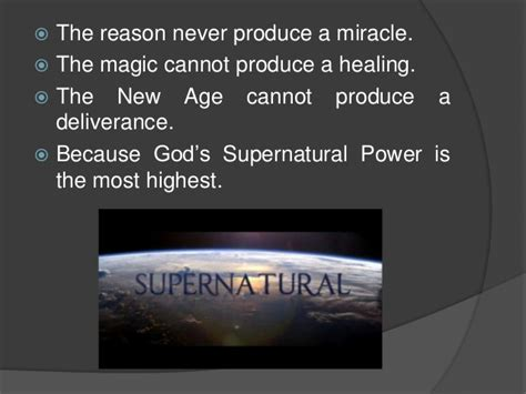 Image result for Supernatural Power of God