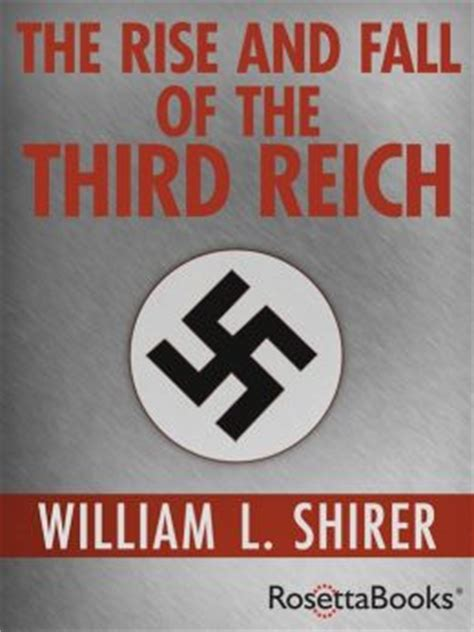Image result for The Rise and Fall of the Third Reich""