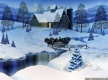 Image result for winter scenery clip art
