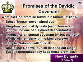 Image result for The Davidic Covenant
