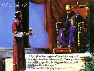 Image result for Nehemiah prayed to the Lord