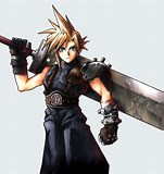 Image result for Who is Cloud Strife in Final Fantasy VII?. Size: 151 x 160. Source: www.amazon.co.uk