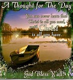 Image result for Spiritual Thought for The Day. Size: 145 x 160. Source: www.pinterest.com