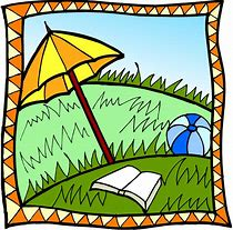 Image result for image of summer fun reading