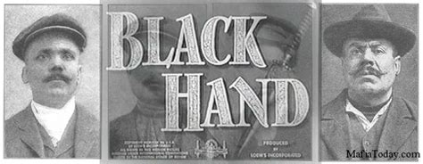 Image result for images the black hand mafia