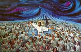 Image result for the multitude worshipped the Lord along with the 4 beasts
