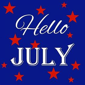 Image result for hello july clipart