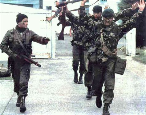 Image result for 1982 - Argentine forces surrendered to British troops on the Falkland Islands.