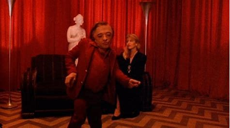 Image result for twin peaks dwarf dance