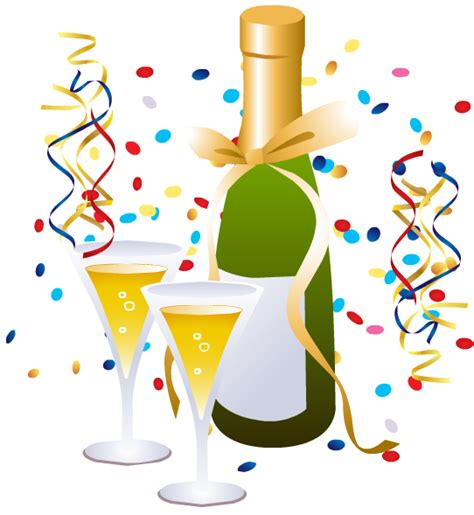 Image result for new year's eve clipart
