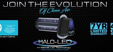 Image result for REME HALO LED Air Purification System Logo