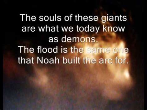 Image result for the dead nephilim became spirits and demons