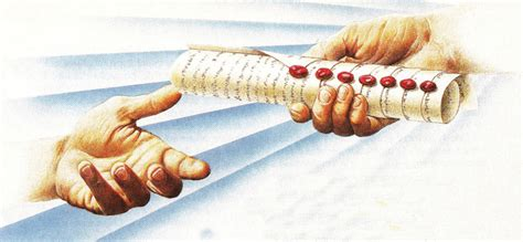 Image result for god has the book with seven seals in his right hand