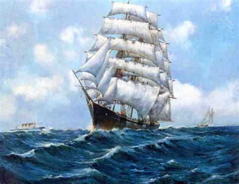 Resultado de imagen de pinturas de buques mercantes