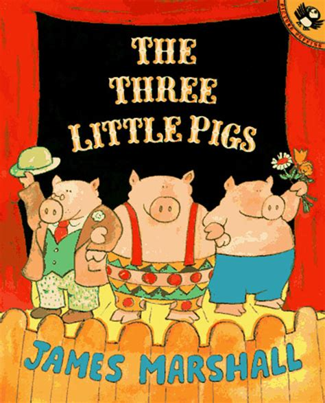 Image result for The Three Little Pigs James Marshall