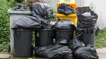 Image result for images of garbage on the curb