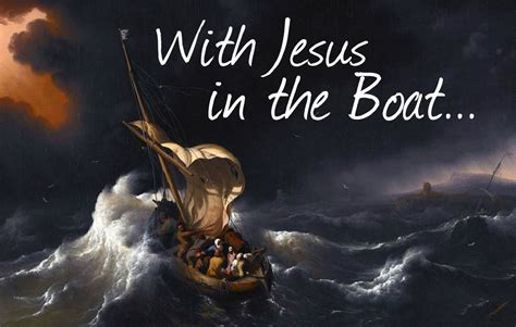 Image result for Jesus is in the boat with you
