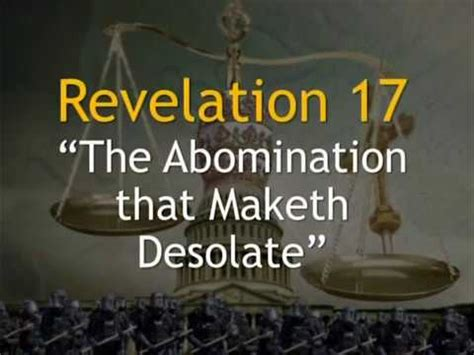 Image result for abomination that makes desolate