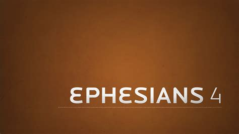 Image result for Ephesians 4