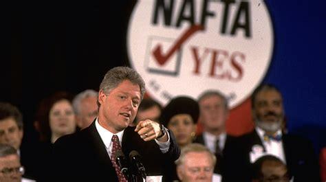 Image result for NAFTA bill clinton