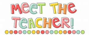 Image result for meet the teacher clipart