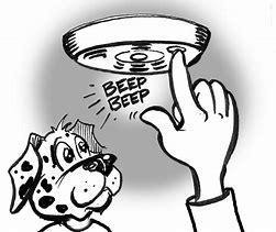 Image result for Clip Art Smoke Detector
