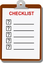 Image result for Free Picture Of Checklist. Size: 139 x 204. Source: pixabay.com