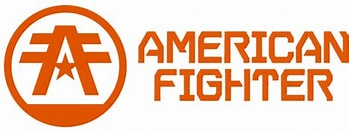 Image result for American Fighter logo. Size: 349 x 131. Source: www.affliction.eu