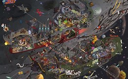 Image result for space battle FF7. Size: 260 x 160. Source: www.reddit.com