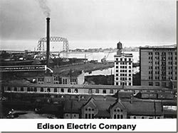 Image result for 1889 - The Edison General Electric Company was organized.