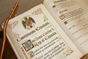Resultado de imagen de la constitucion española