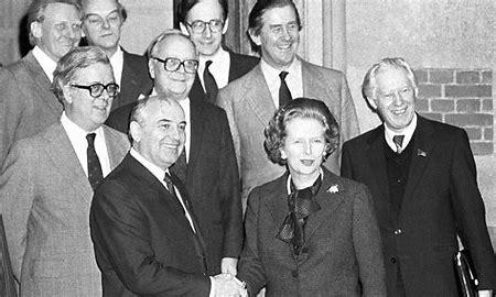 Image result for gorbachev, thatcher images