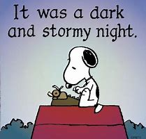 Image result for it was a dark and stormy night