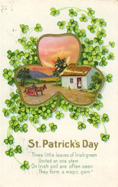 Image result for Vitage St. Patrick's Day