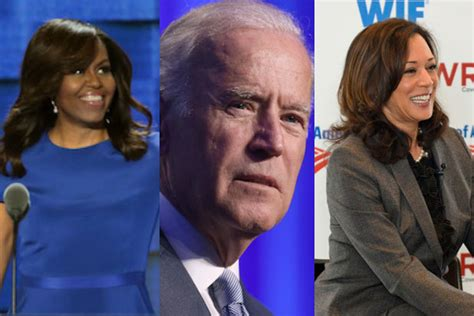 Image result for joe biden and michelle obama presidential ticket in 2020