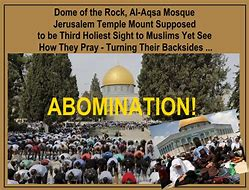 Image result for antichrist and the abomination of desolation