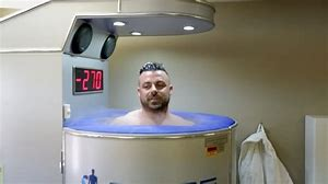NFL futuristic recovery rooms include sensory deprivation pods, laser-therapy tables, -200° cryotherapy chambers...