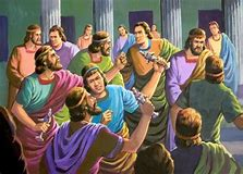Image result for the riot in Ephesus started by Paul in the Bible