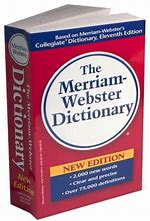 Image result for clip art merriam-webster