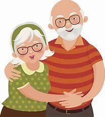 Image result for Grandma and Grandpa Clip Art