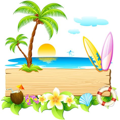 Image result for beach party images clip art