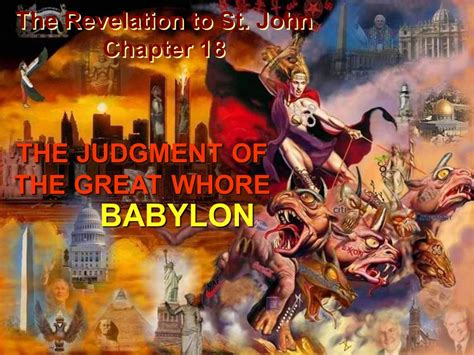 Image result for the angel shows john the judgement of the whore of babylon